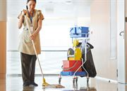 business sector Education sanitising and deep cleaning