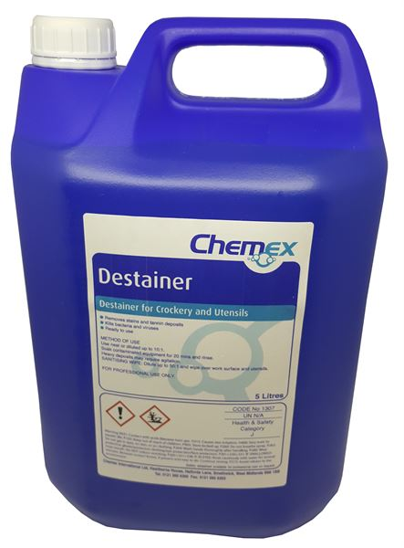 destainer 5litre 1307005