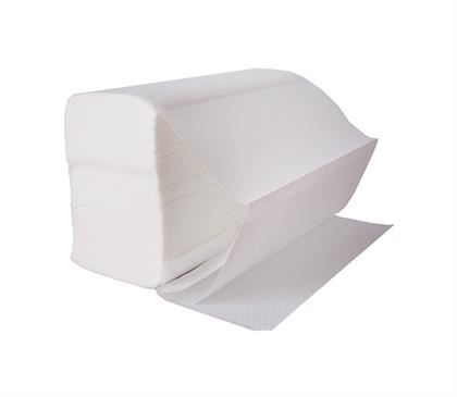 HANDTOWELS White Z Fold 2 ply Narrow (2400)