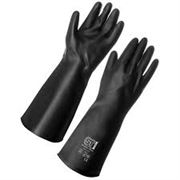 GLOVES Rubber Tough Black