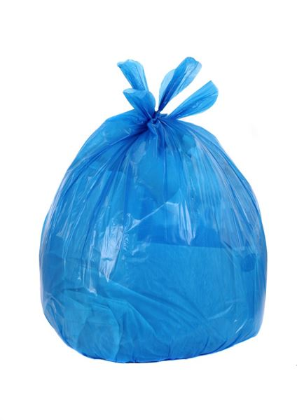 sacks refuse food safe (200) - blue BA128